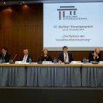 Gäste des 57. Berliner Steuergesprächs